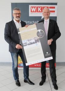 © WKB - Unternehmensberater Heinz Gossmann, Wirtschaftskammer Direktor Rainer Ribing